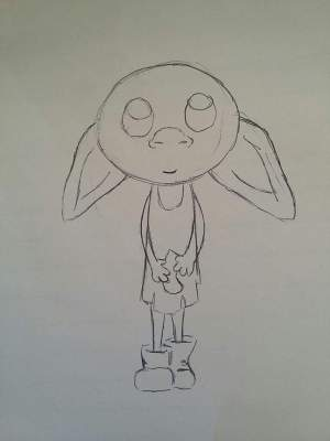 potter harry draw dobby easy drawings quick amino drawing sketch