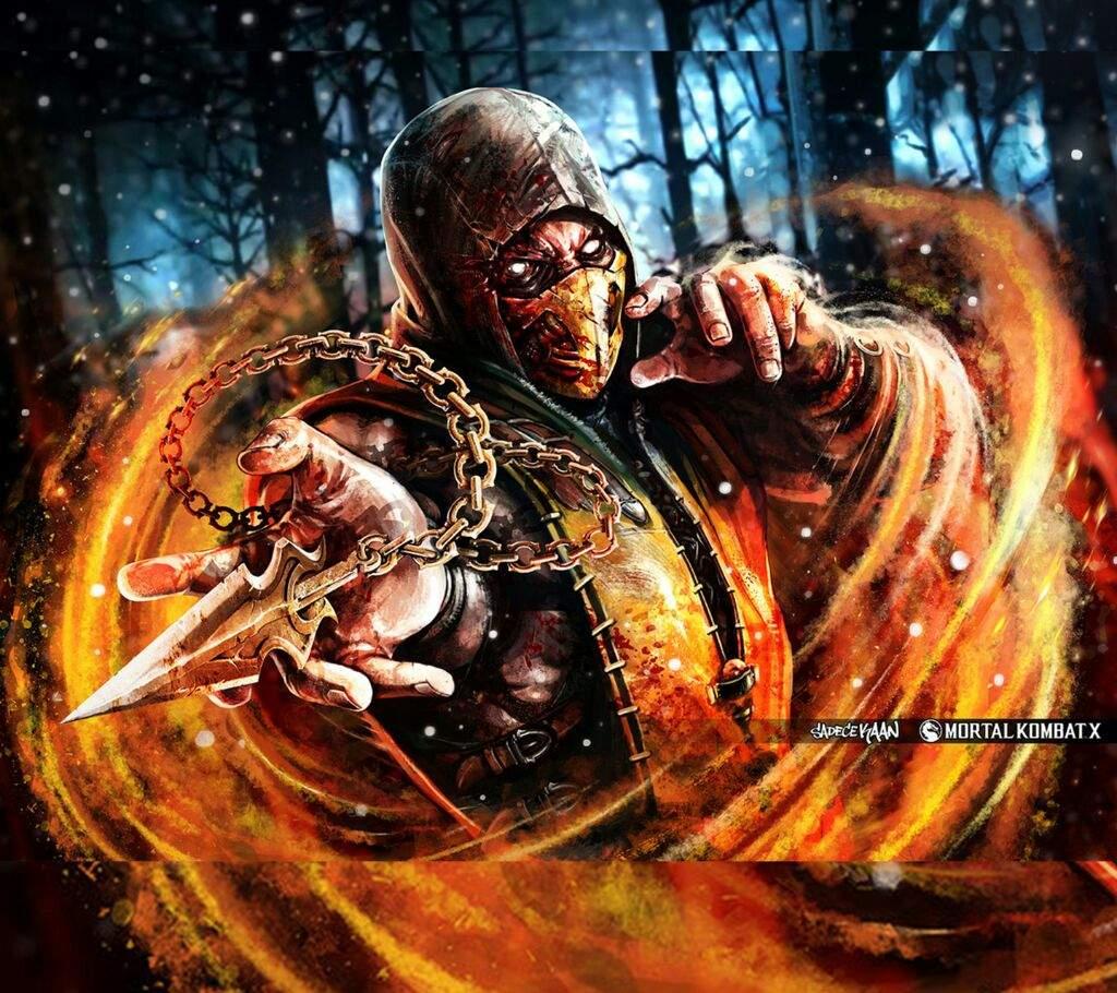 Game history scorpion MK  Corporao Nerd Amino