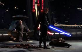 Image result for anakin cuts off dooku head