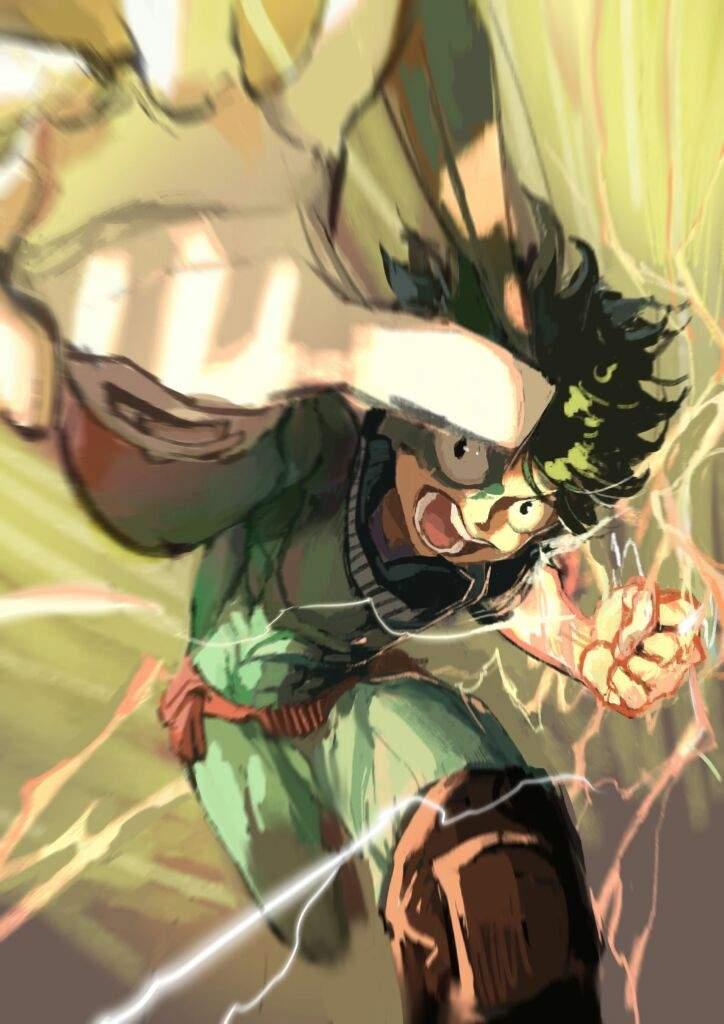 One For All My Hero Izuku Academia Midoriya