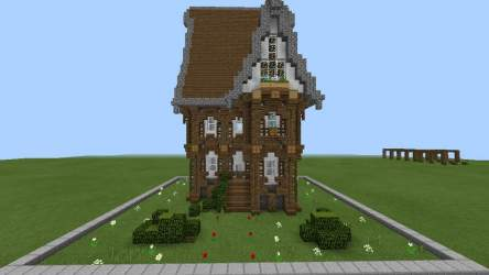 medieval rustic minecraft build academy assignment cipher