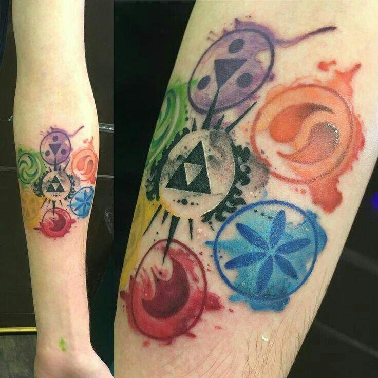 Tatuajes The Legend Of Zelda Zelda Amino En Español Amino
