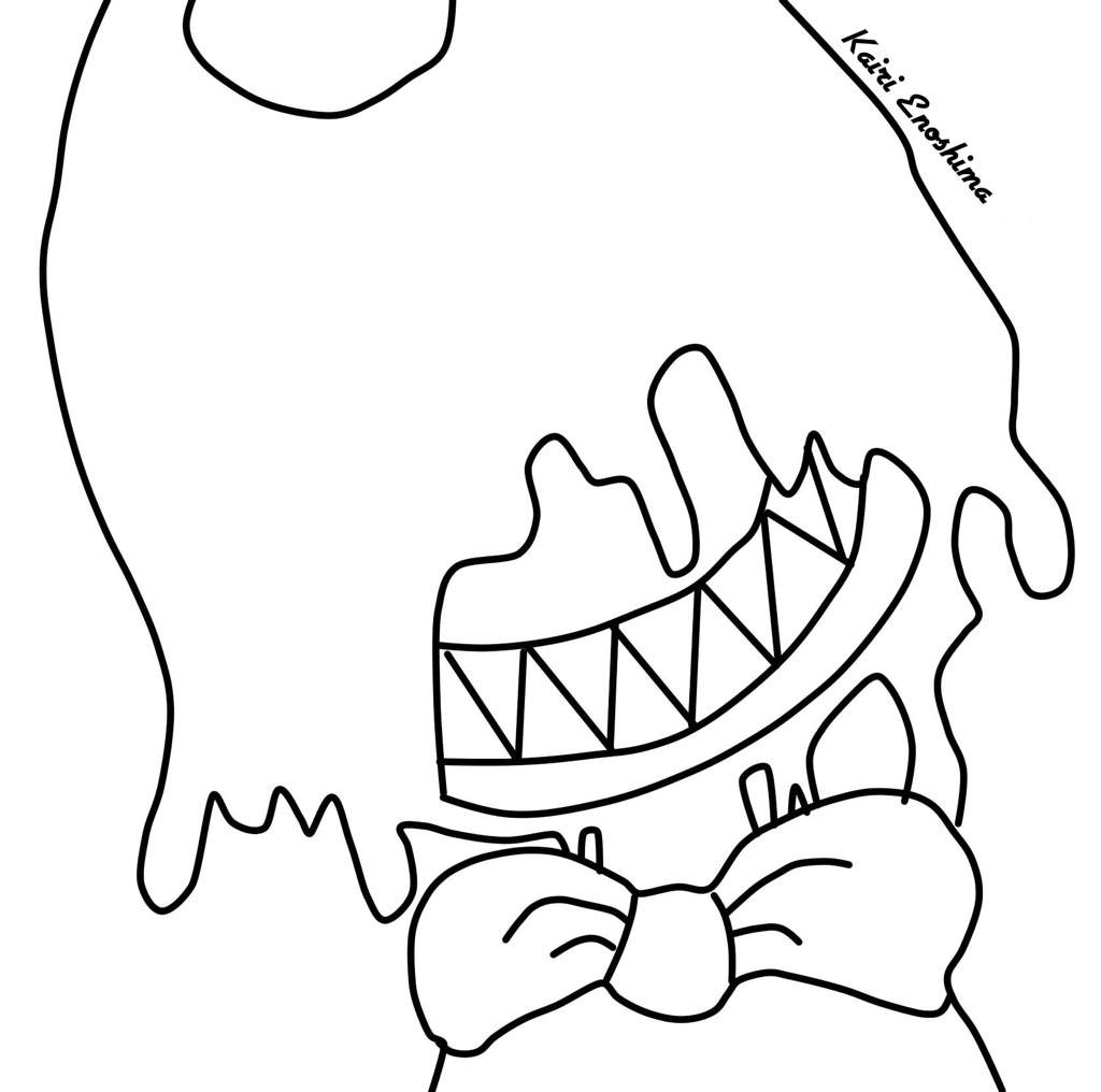 photograph about Bendy Coloring Pages Printable named Bendy Coloring Webpages - Ofertasvuelo