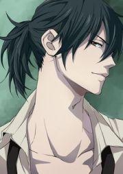 anime guys withlong hair
