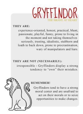 Lets Talk About Gryffindor  Harry Potter Amino