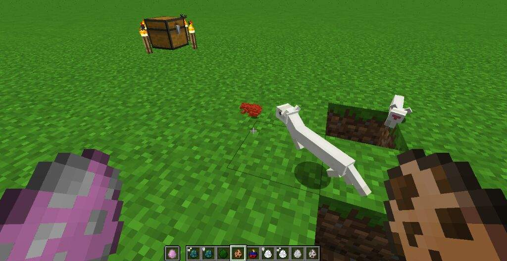 The modded and vanilla mobs in 112 to 1112  Minecraft