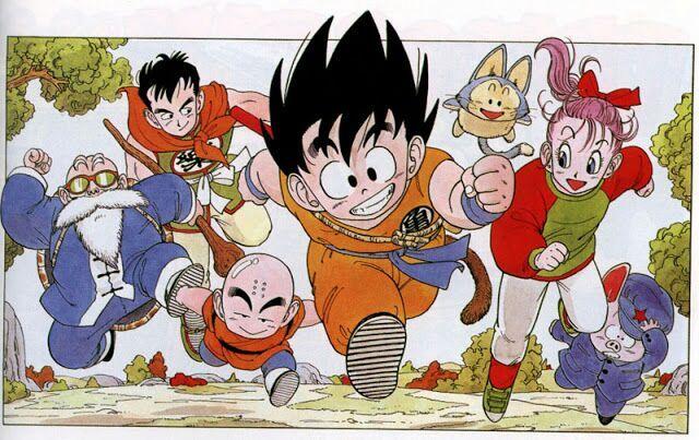 """Résultat de recherche d'images pour """"dragon ball goku friends"""""""