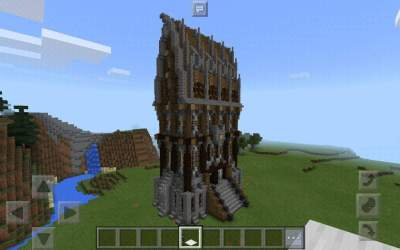 hall town medieval minecraft nordy