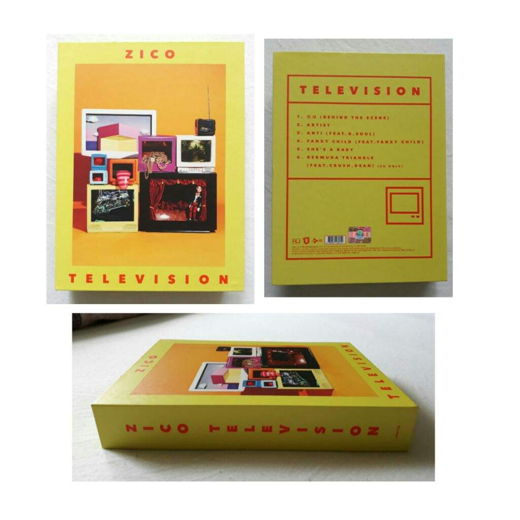 zico television unboxing k