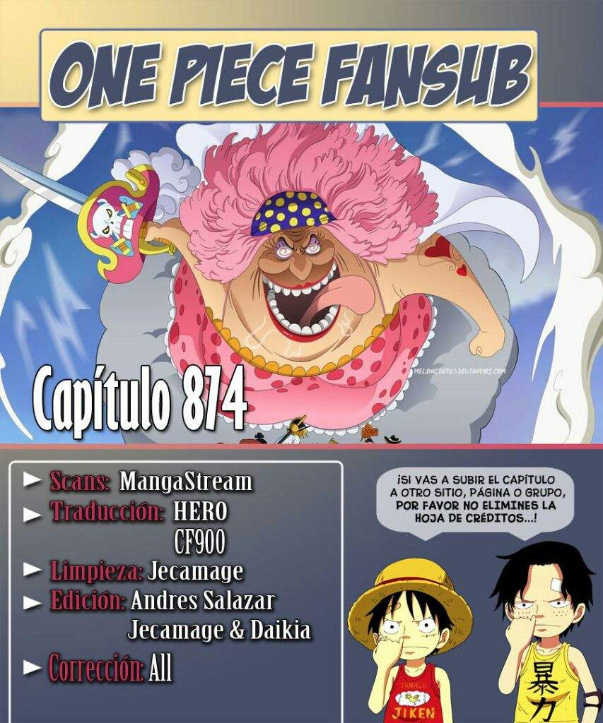 One Piece Ep 874 : piece, Manga, Piece, •One, Piece•, Amino