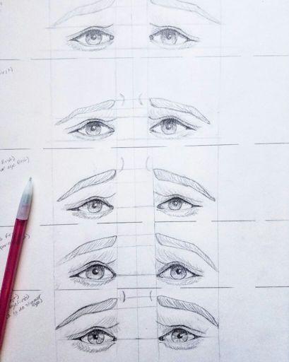 Sad Eyes Drawing : drawing, Practice, Sketches, Amino