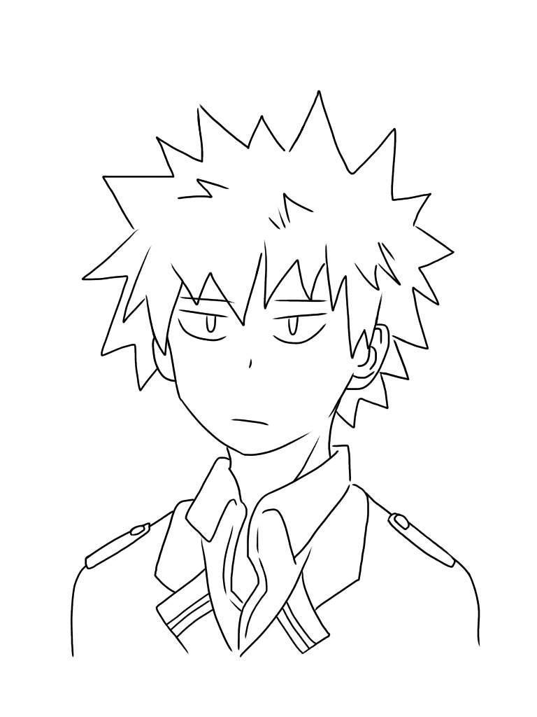 Easy Bakugou Drawing : bakugou, drawing, Academia, Drawing, Ideas