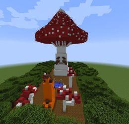 Minecraft Amino Mushroom Challenge Minecraft Amino