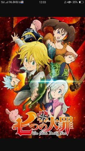 Nanatsu No Taizai Wiki : nanatsu, taizai, Seven, Deadly, (Nanatsu, Taizai), Anime, Amino