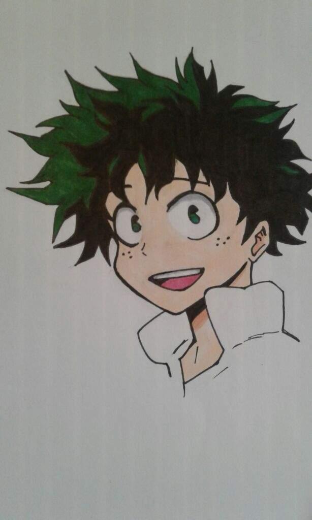 How To Draw Deku Step By Step : Midoriya, Izuku•, Drawing, Tutorial✏, Anime, Amino