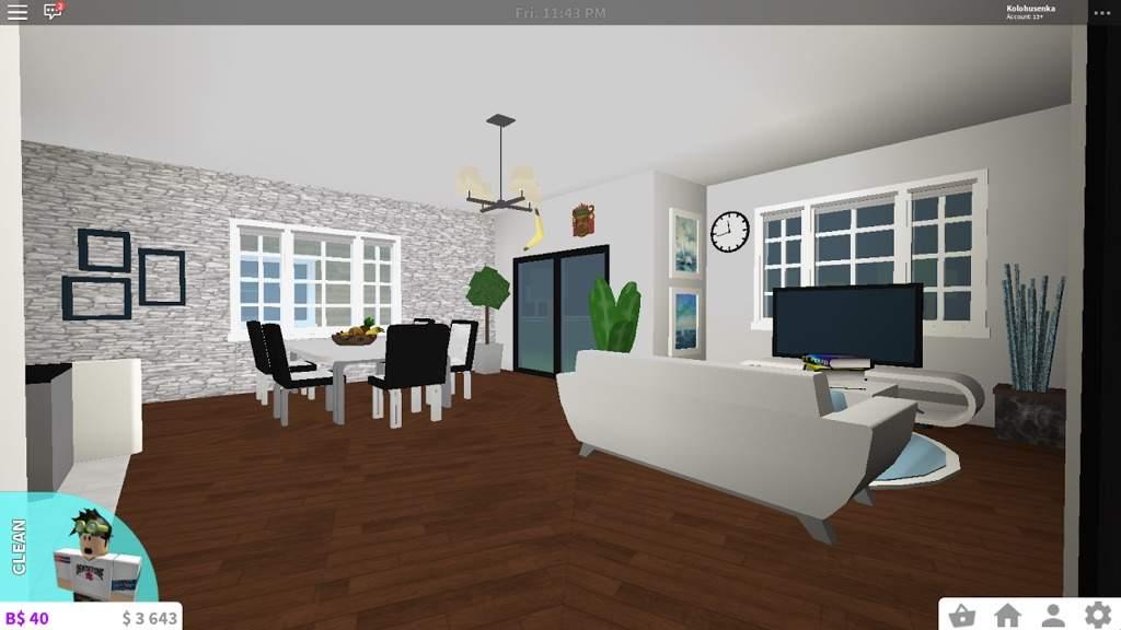 Cafe au lait family room 03:02 the family room's cafe au lait and gray to. Living Room Ideas Bloxburg - jihanshanum