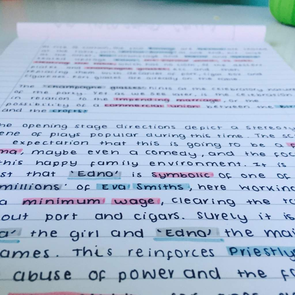 Study Notes English 2