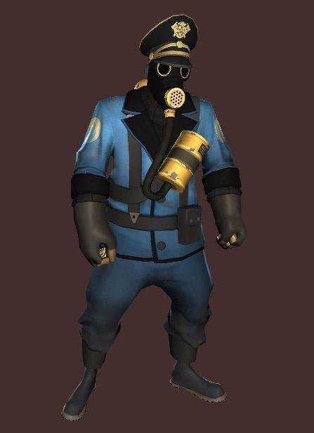 Nazi Officer Pyro Loadout  Team Fortress 2 Amino
