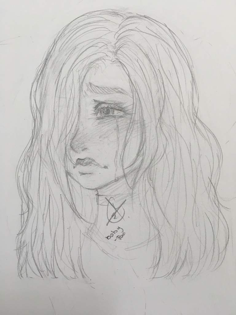 Drawing Of A Girl Crying : drawing, crying, Drawing, Crying, Ideas