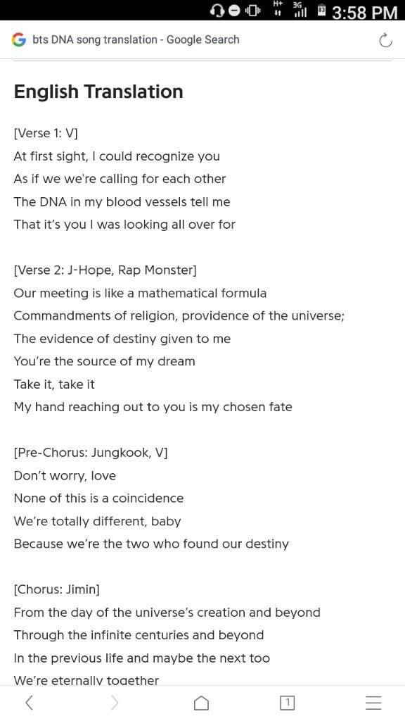 Dna Romanized Lyrics : romanized, lyrics, Lyrics, Center:, English