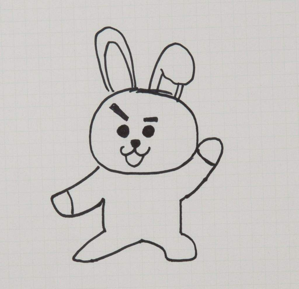 Bts Own Line Stickers Characters