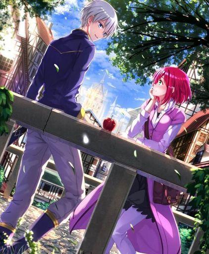 Red And White Anime : white, anime, White, Hair:, Manga, Anime, Harem, Amino