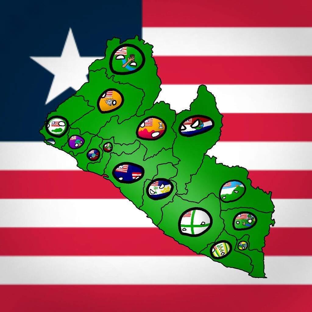 liberian counties polandball amino