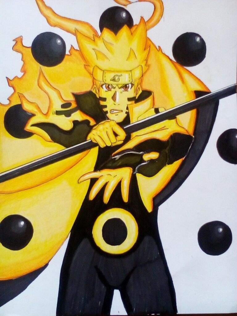 Naruto Modo Sabio De Los 6 Caminos DibujArte Amino