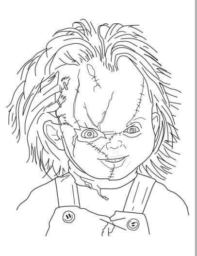 Dibujo De Chucky