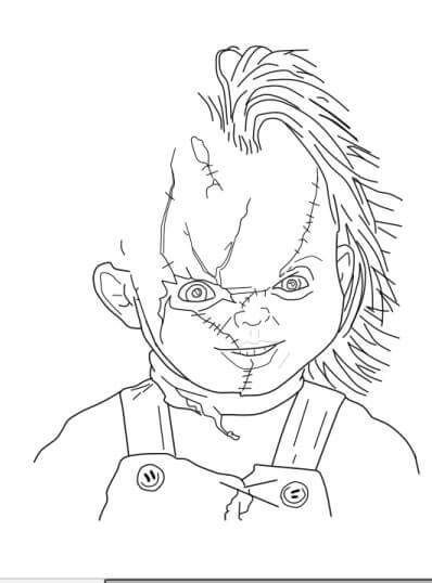 Chucky The Killer Clipart