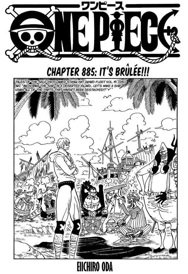 Manga One Piece 885 : manga, piece, Piece, Manga, Anime, Amino