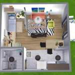 Tiny 6x6 House Challenge Sims Amino