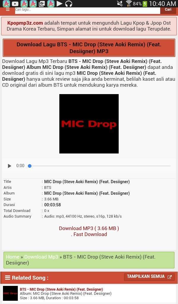 Download Lagu Mic Drop Bts : download, Downloaded, ARMY's, Amino