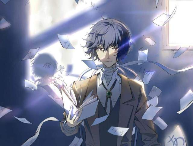 Image result for bungou stray dogs dazai wallpaper hd
