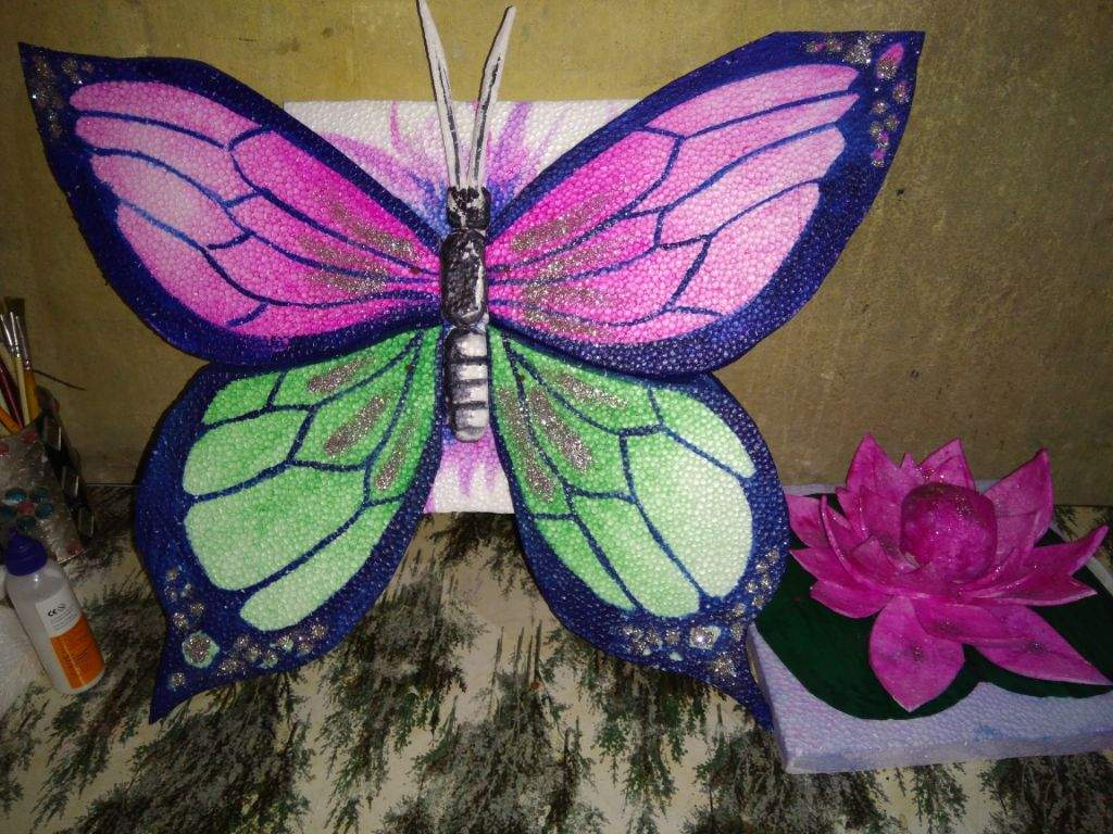 My Craft Work I Can Make It With Help Of Thermocol And Fabric Paint Art Amino
