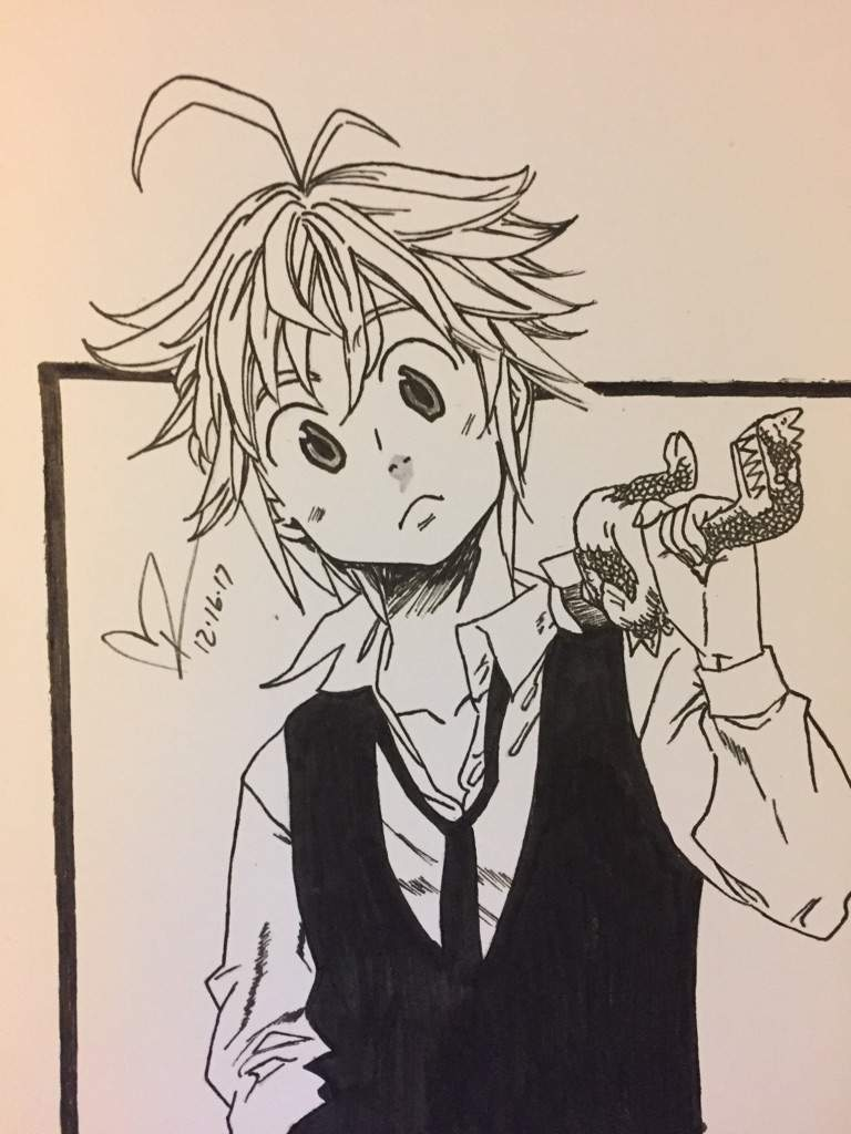 How To Draw The Seven Deadly Sins : seven, deadly, Meliodas, Seven, Deadly, Speed, Drawing, Lapse, Clark, Anime, Amino