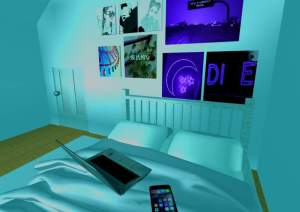 roblox aesthetic studio build bedroom amino fire