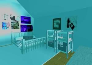 roblox aesthetic bedroom build codes amino itunes giveaway