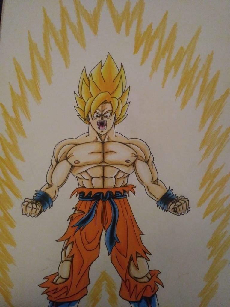 How To Draw Goku Super Saiyan 10000 : super, saiyan, 10000, Drawing, Installer