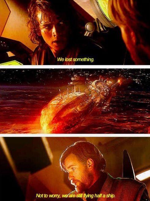 We Re Still Flying Half A Ship : still, flying, Anakin, Skywalker, Kenobi's, Relationship, Picture, Amino