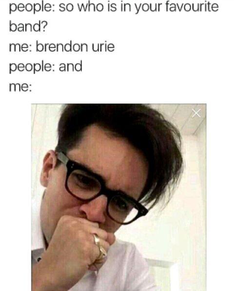 Brendon Urie Memes : brendon, memes, Brendon, Memes, Panic!, Disco, Amino