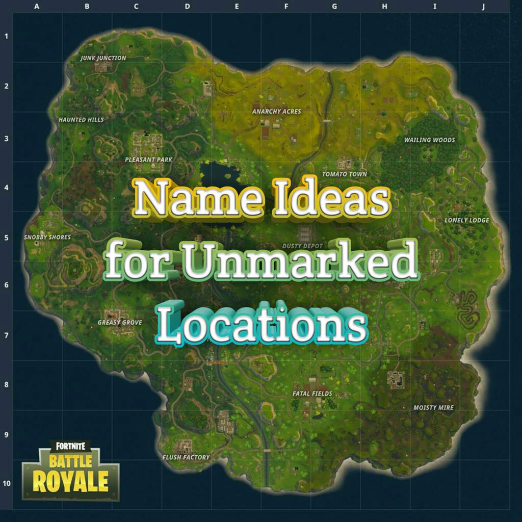 image relating to Printable Fortnite Map known as Fortnite Clan Generator
