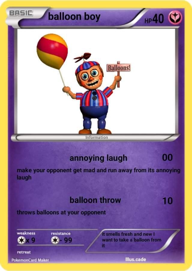 Balloon Boy Laugh : balloon, laugh, Balloon, Nights, Freddy's, Amino
