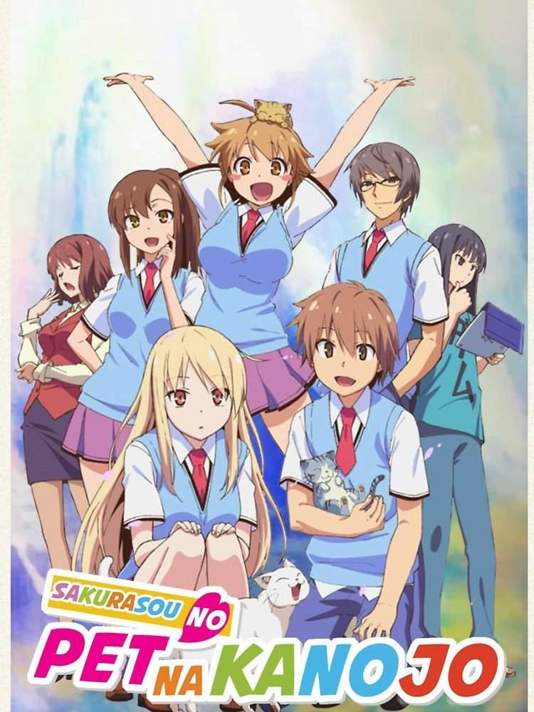 Sakurasou No Pet Na Kanojo : sakurasou, kanojo, Sakurasou, Kanojo, Anime, Amino