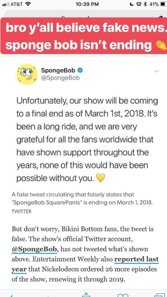 Spongebob Ending March 1 : spongebob, ending, march, Heard, About, News?, Spongebob, FanPage, Amino