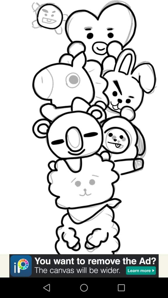 Baby Kung Fu Panda Cute Wallpaper Bt21 Coloring Pages Goodmorningwishes