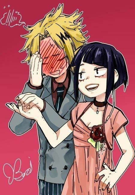 Bnha Girls Wallpaper Denki X Jirou Anime Amino
