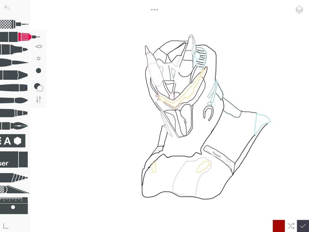 Coloriage De Fortnite Omega Beau Omega Drawing At Getdrawings