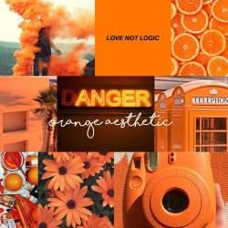 Orange aesthetic Pretty○Aesthetics Amino