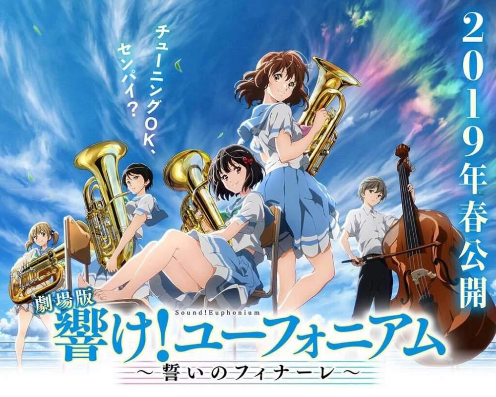 Resultado de imagen para Sound! Euphonium: Chikai no Finale
